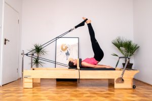pilates roll over